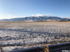 40 acres, irrigated, used as pasture and crops.  Great location with power to the property.  Beautiful views of the valley and mountains.  Water rights included.