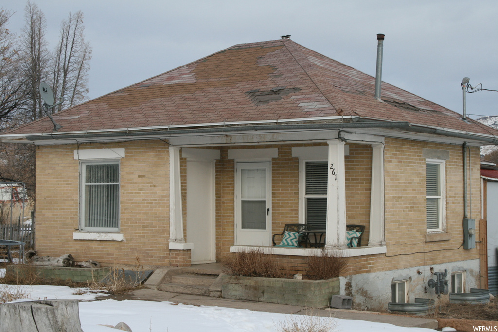 "This home is being sold ""as is"".  There are two rooms downstairs that have been used as bedrooms but only one has windows.  There is  plenty of property to make an addition on to the home."