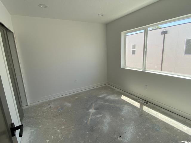 Master Bedroom - Level 3: Construction Progress