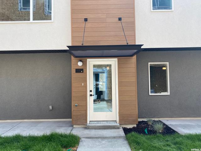 Front Door: North Facing