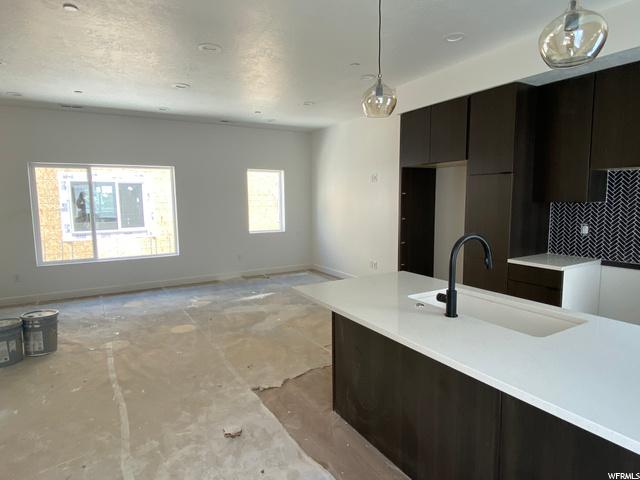 Kitchen/Living - Level 2: Construction Progress 7/7/20